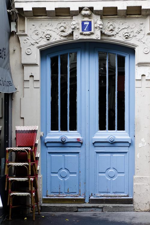 Door at number 7